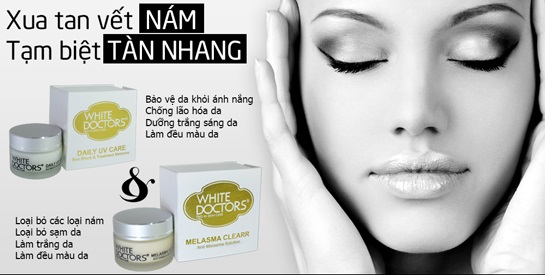 Kem Giảm Hết Nám Da Thể Nhẹ Melasma Clearr White Doctors - Thật Đẹp.vn