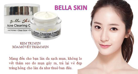 Kem Trị Mụn Xóa Thâm Do Mụn Để Lại Acne Clearing Cream
