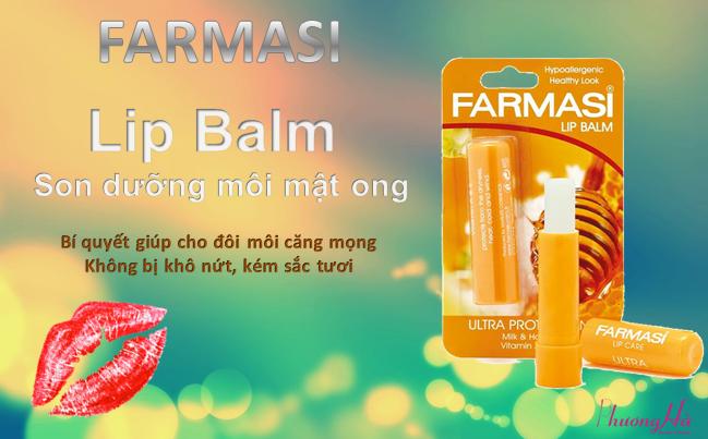 Son dưỡng môi mật ong Lip Balm