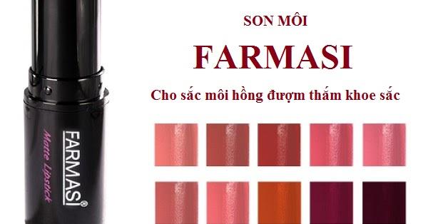 Son môi lâu phai dưỡng ẩm Farmasi Matte Rouge Lipstick 1738LIP
