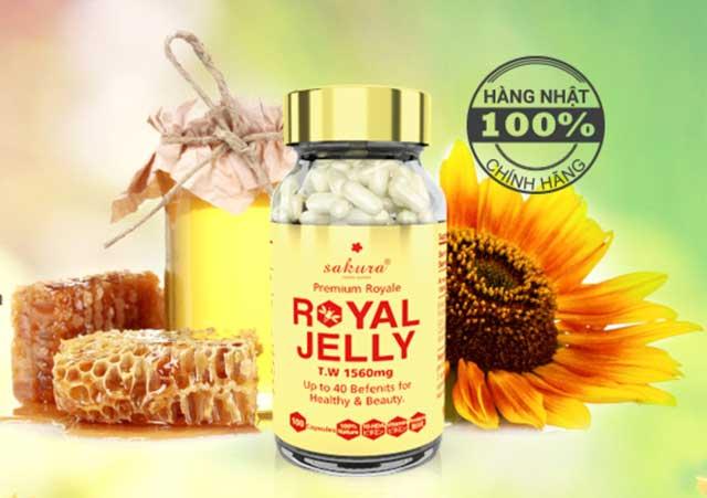 Viên Sữa Ong Chúa Sakura Premium Royal Jelly