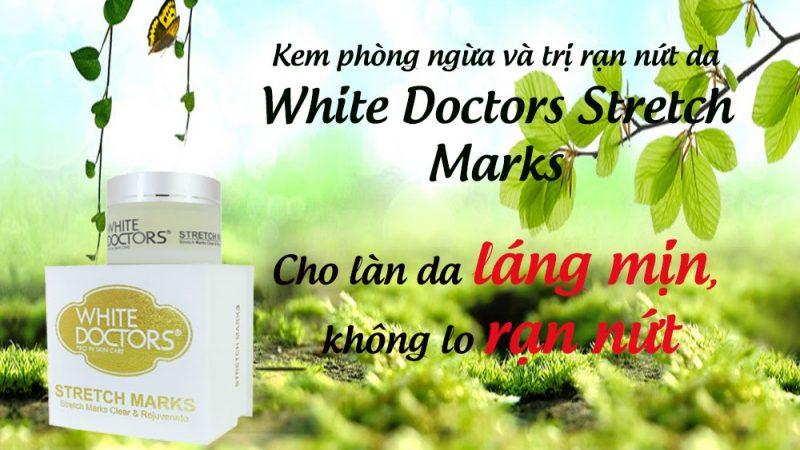 Kem Phòng Ngừa Và Trị Rạn Nứt Da White Doctors Stretch Marks
